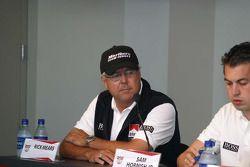Marlboro Team Penske press conference: Rick Mears