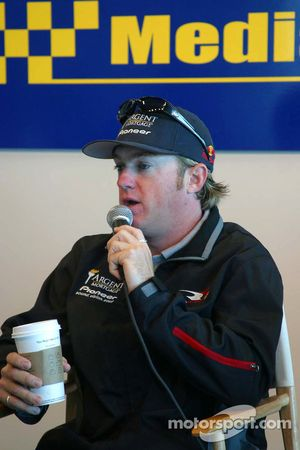 Rahal Letterman Racing press conference: Buddy Rice