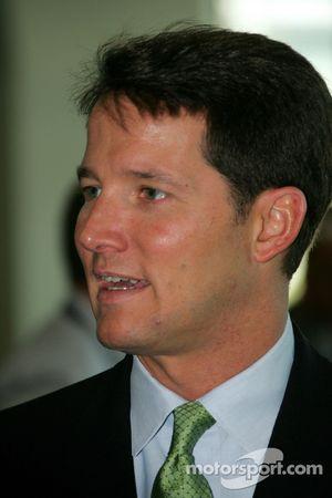 ABC IndyCar Series announcer Todd Harris