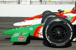 Front row for the 89th running of the Indianapolis 500: the cars