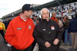 Tim Cindric and Roger Penske
