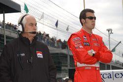 Roger Penske and Sam Hornish Jr.