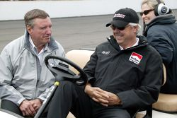 Johnny Rutherford and Rick Mears