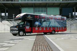 Indy 500 Fan Tour Recreational Vehicle