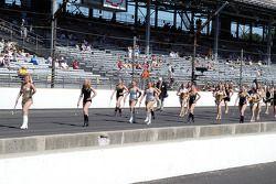 Purdue Marching Band Majorettes
