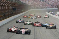 Danica Patrick führt im Indy 500