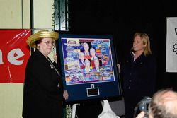 AAWRBA breakfast: Lesa France Kennedy receives the