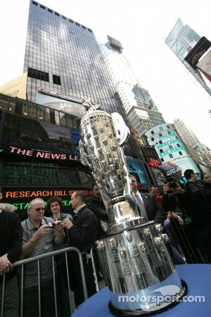 The legendary Borg Warner Trophy