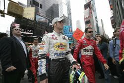 Tomas Scheckter and Helio Castroneves