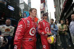 Scott Dixon and Darren Manning