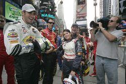 Tomas Scheckter, Bryan Herta and Danica Patrick