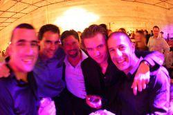 Dario Franchitti, Bryan Herta, Michael Andretti, Dan Wheldon and Tony Kanaan