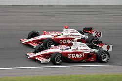Ryan Briscoe and Scott Dixon