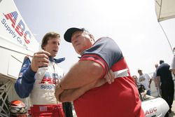 A.J. Foyt IV and A.J. Foyt