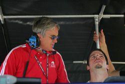 Eddie Cheever et Patrick Carpentier