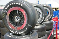 Firestone Firehawk tires ready to go