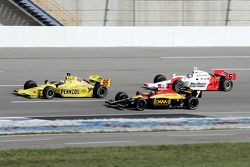 Buddy Lazier, Bryan Herta and Sam Hornish Jr.