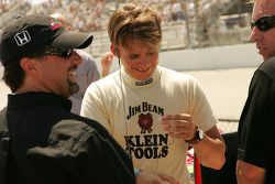 Michael Andretti et Dan Wheldon
