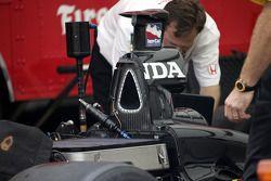 Un moteur Honda
