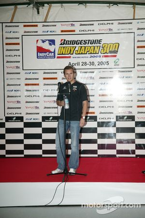 Indy Japan 300 welcome party: Dan Wheldon