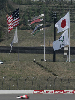 Flags at Motegi