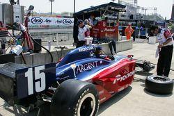 Rahal Letterman Racing pit area