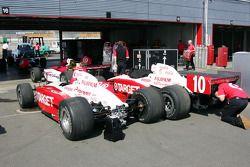 Ganassi Racing garage area