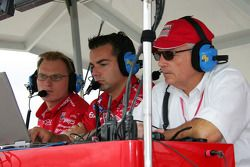 Les stands Ganassi Racing
