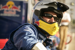 Cheever Racing crew member watches race action