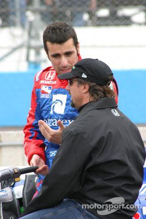 Fabio Carbone et Heikki Kovalainen