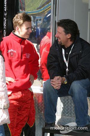 Dan Wheldon et Michael Andretti