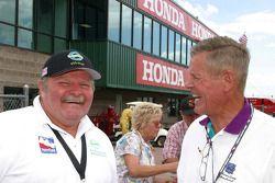 Ron Hemelgarn and Bobby Unser