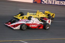 Scott Dixon et Tomas Scheckter