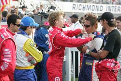 Ryan Briscoe and Kosuke Matsuura