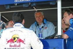 Patrick Carpentier and Eddie Cheever