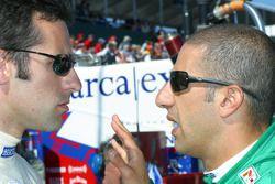 Dario Franchitti et Tony Kanaan