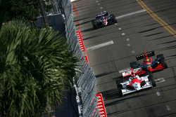 Helio Castroneves and Tomas Enge