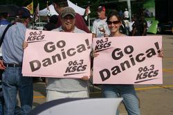 Fans of Danica Patrick