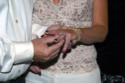 Wyatt and Joyce Swaim exchange rings