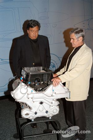 Al Unser, Sr. and New Mexico Governor Bill Richardson