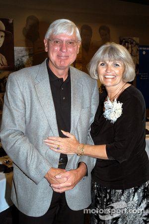 Bridgestone/Firestone Director of Racing Al Speyer and Susan Unser