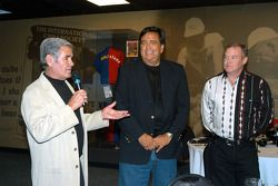 Al Unser, Sr. and Jr. introduce New Mexico Governor Bill Richardson