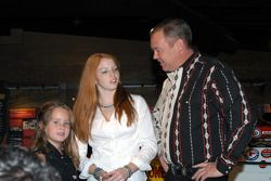 Loni, Shannon and Al Unser, Jr.