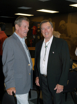 Bobby Unser and Johnny Rutherford