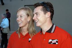 Al Unser III and girlfriend Renee Smith