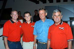 Al Unser, Jr., Al Unser III, Bobby Unser and Al Unser, Sr.