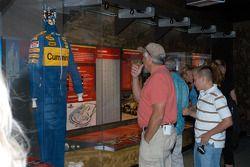 Visitors make way through Indy 500 room
