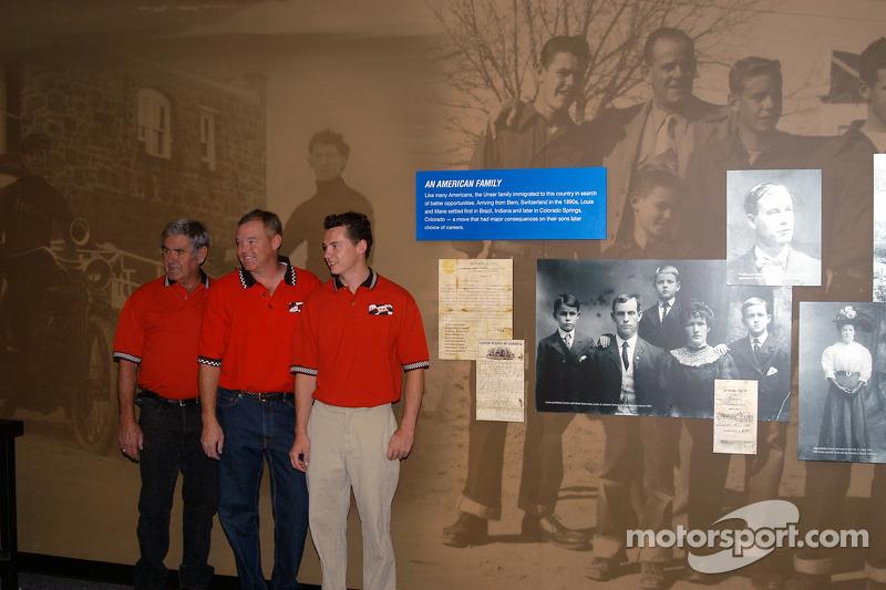 Al Unser, Sr. and Jr. and Al Unser III
