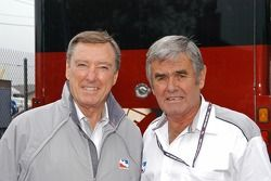 Johnny Rutherford and Al Unser Sr.