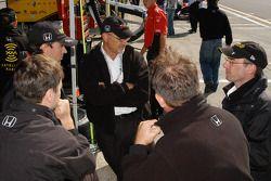 Team Andretti Green meeting